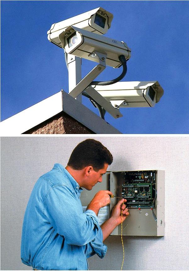 техническое обслуживание систем видеонаблюдения пожаротушения охранной сигнализации